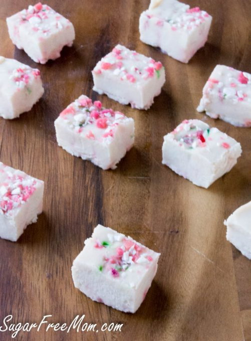but if youre not a fan of peppermint just make my white chocolate fudge recipe and add some christmas colored sprinkles