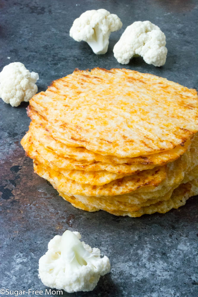 Low Carb Baked Cauliflower Tortillas Gluten Free