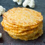 Low Carb Cauliflower Tortillas