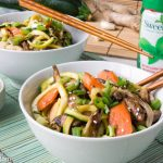 Low Carb Gluten-Free Chicken Zoodle Lo Mein