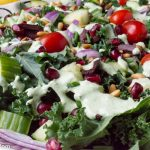 Low Carb Greek Goddess Kale Salad