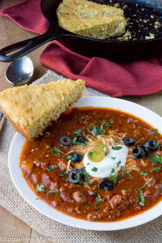 Slow Cooker Low Carb No-Bean Chili