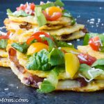 Low Carb BLT Cauliflower Quesadillas