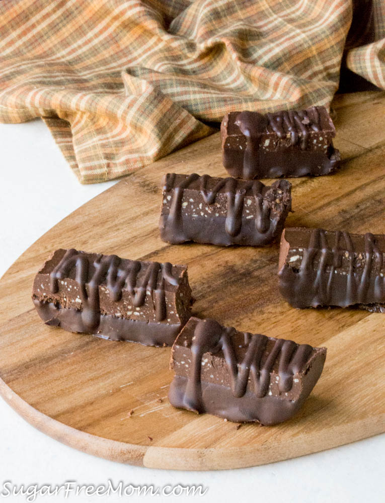 These delicious Chocolate Fudge Protein Bars are a no bake recipe that's low carb, sugar free, gluten free and nut free as well! Perfect for a healthy, ...