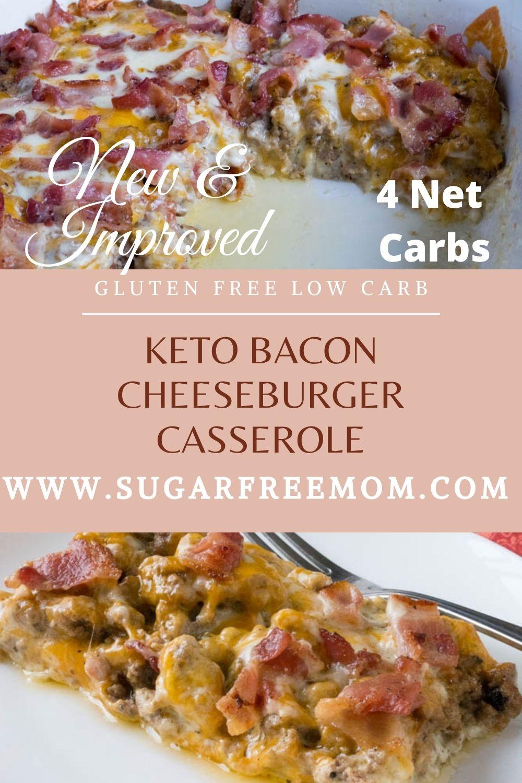 Keto Bacon Cheeseburger Casserole (NEW & IMPROVED!)