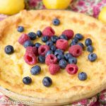 Sugar Free Lemon Custard Pie