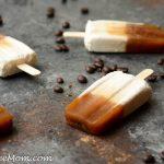 Sugar-Free Caramel Macchiato Popsicles