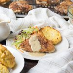 Low Carb Country Fried Steak (Gluten Free and Nut Free)