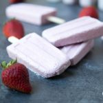 3 Ingredient Paleo Strawberry Cream Popsicles (Low Carb)