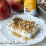Low Carb Caramel Apple Cheesecake Bars