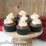 Low Carb Chocolate Peanut Butter Stuffed Cupcakes