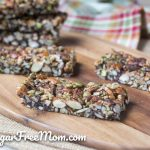 low carb sugar free granola bars