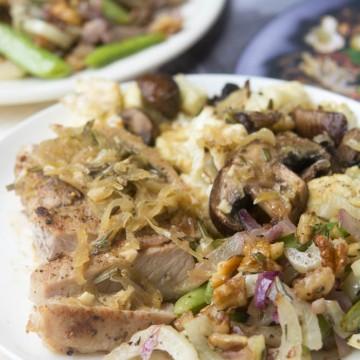 low carb pork dinner
