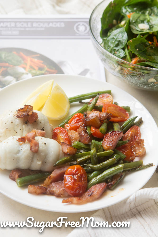 low carb fish dinner