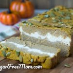 Low Carb Pumpkin Cream Cheese Bread (Gluten Free)