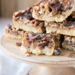 Low Carb Candied Bacon Pecan Pie Bars