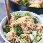 Low Carb Shrimp Ramen Stir Fry (Keto, Gluten Free)
