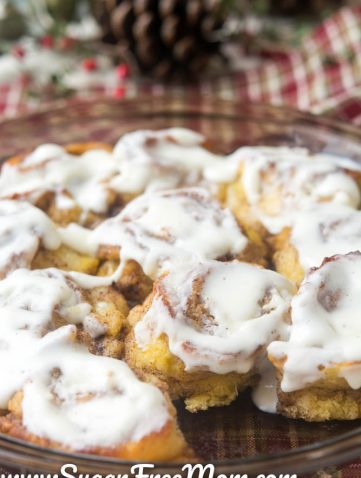 Sugar free mom naturally sweetened fabulous meals for a keto low carb cinnamon rolls sugar free almond flour free negle Images