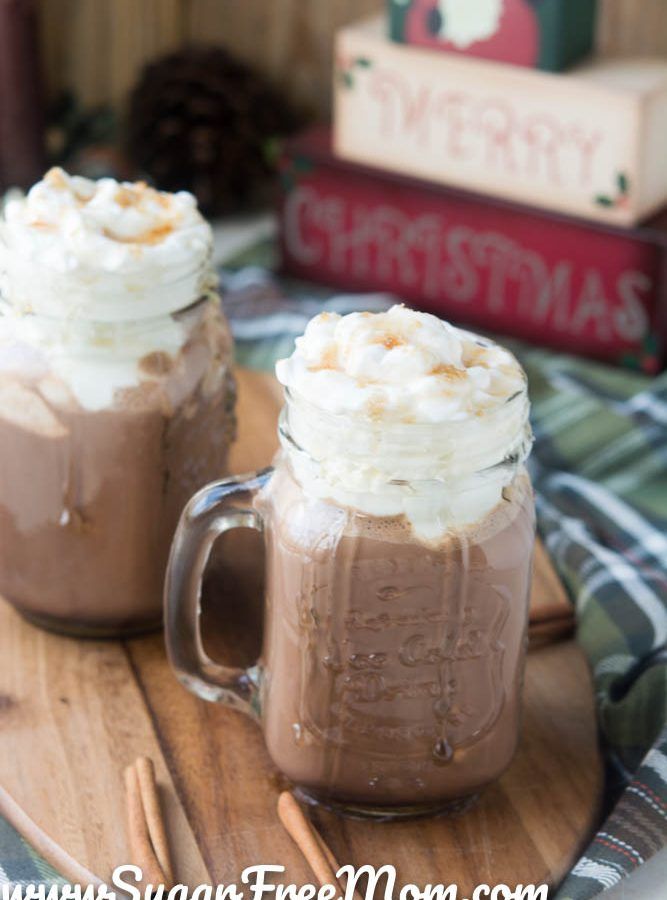 Low Carb Snickerdoodle Hot Chocolate