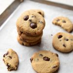 Sugar-Free Low Carb Chocolate Chip Cookies (Keto, Nut Free)