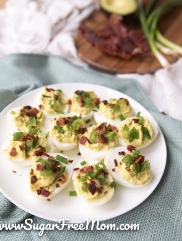 Sugar free mom naturally sweetened fabulous meals for a keto deviled green eggs and ham negle Images
