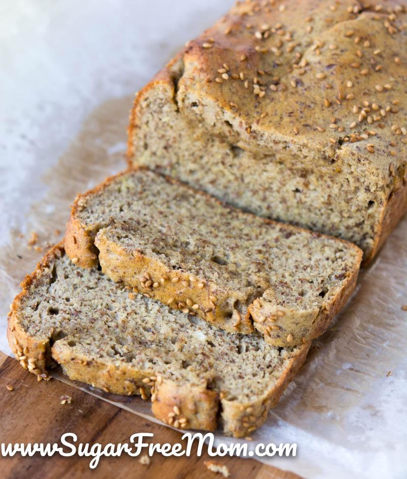 Keto Low Carb Coconut Flour Bread