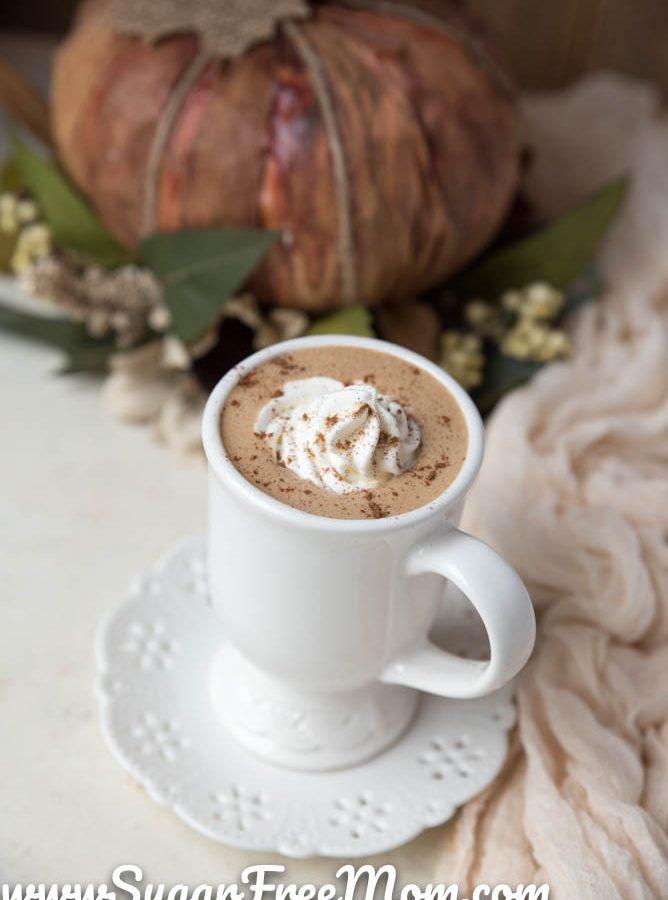 Keto Bulletproof Pumpkin Spice Latte (Paleo)