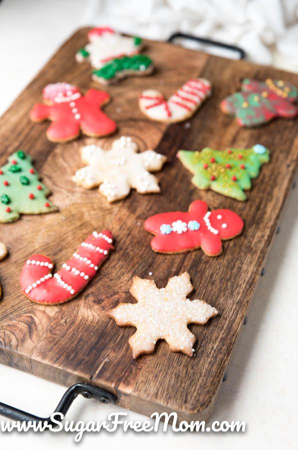 Sugar Free Sugar Cookies Low Carb Keto Nut Free Gluten Free