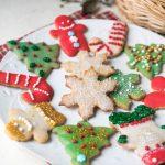 Sugar Free Sugar Cookies (Low Carb, Keto, Nut Free, Gluten Free)