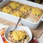 Low Carb Turkey Pot Pie (Gluten Free, Nut Free)