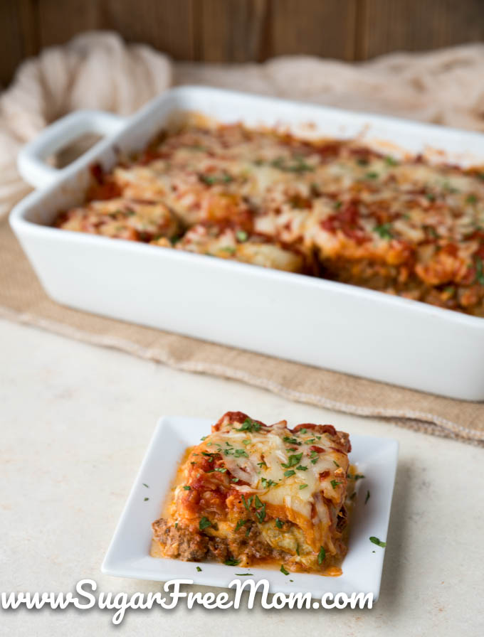 Cabbage Lasagna Low Carb Keto Gluten Free