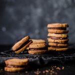 Low Carb Hazelnut Chocolate Sandwich Cookies