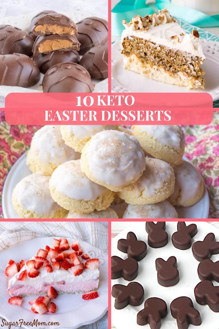 10 Keto Easter Desserts eCookbook