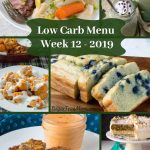 Low Carb Keto Meal Plan Week 12