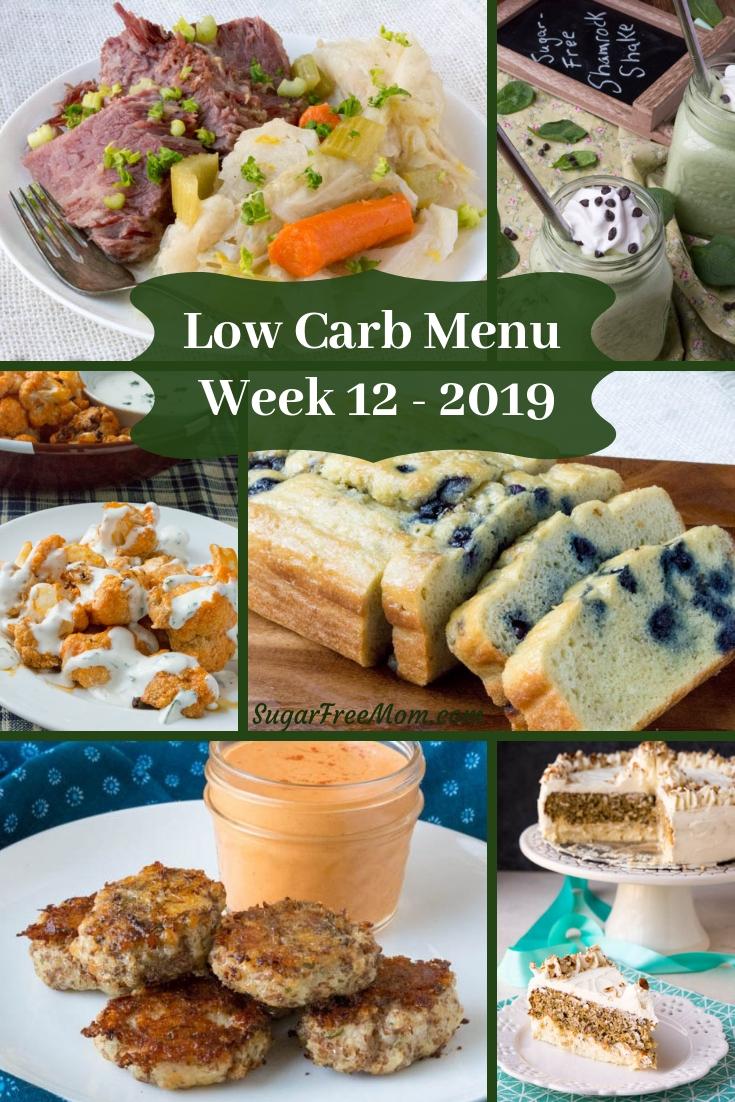 Low Carb Keto Meal Plan Week 12