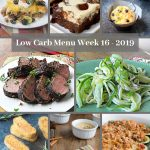 Low Carb Keto Meal Plan Week 16
