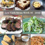Low Carb Keto Meal Plan Week 16