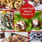 Easter Low Carb Keto Meal Plan Week 17