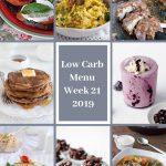 Low Carb Keto Meal Plan Week 21
