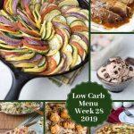 Low Carb Keto Meal Plan Week 28