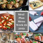 Low Carb and Keto Meal Plan Menu Week 29