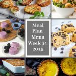 Low Carb Keto Meal Plan Menu Week 34