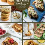 Low Carb Keto Meal Plan Menu Week 37