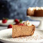Sugar Free Chocolate Cheesecake (Low Carb, Keto, Nut Free)