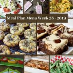 Low Carb Keto Meal Plan Menu Week 38