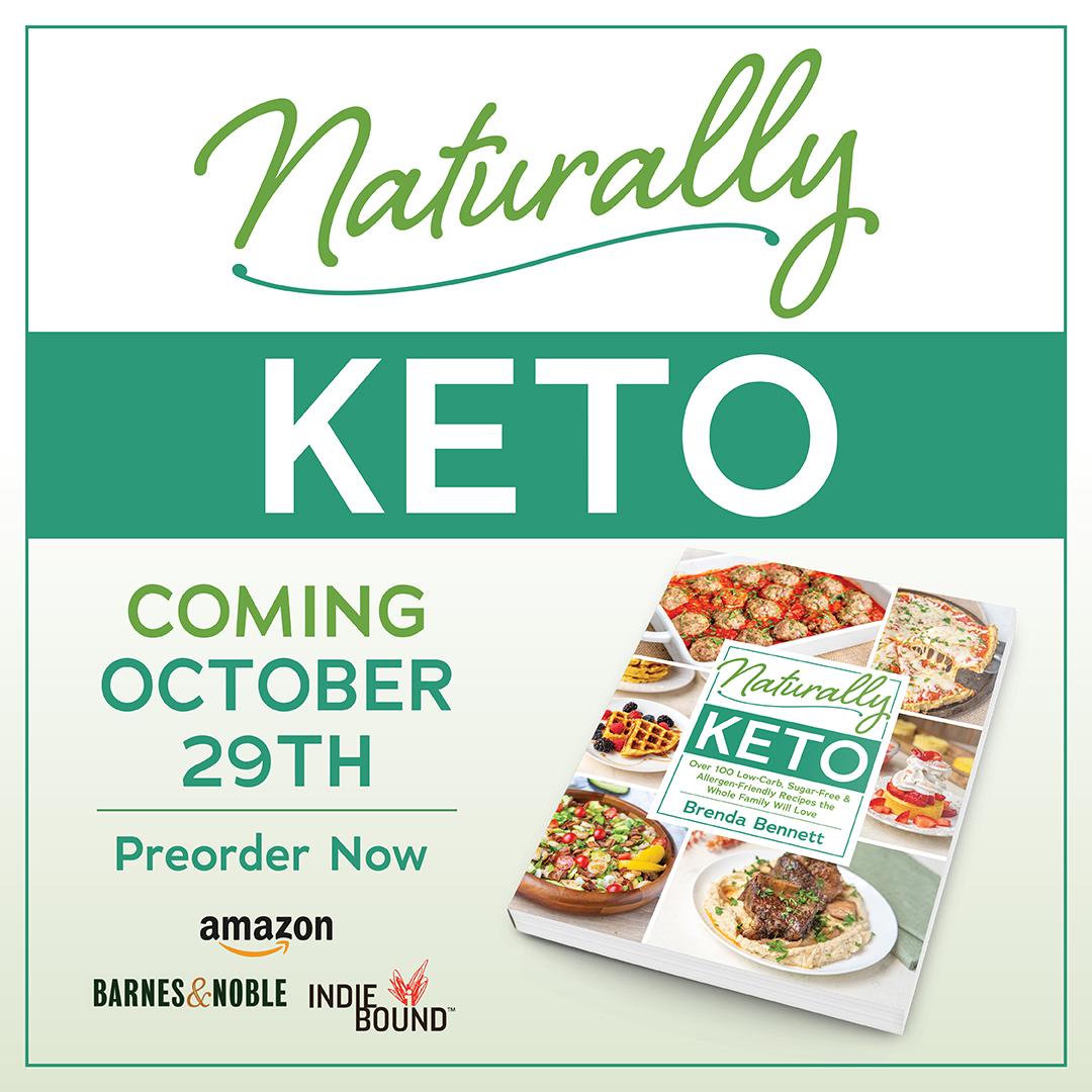 Naturally Keto Cookbook With Free Bonus Ebook