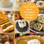 22 Low Carb Keto Pumpkin Desserts eBook