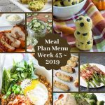 Low Carb Keto Meal Plan Menu Week 43