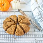 Keto Maple Pumpkin Scones