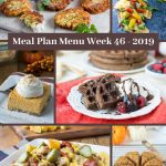 Low Carb Keto Meal Plan Menu Week 46